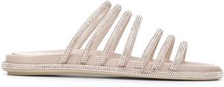 Rene Caovilla Frida crystal-embellished strappy sandals