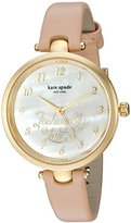 Kate Spade Women's Holland Brown Watch KSW1220