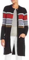 Sonia Rykiel Light Tweed Coat