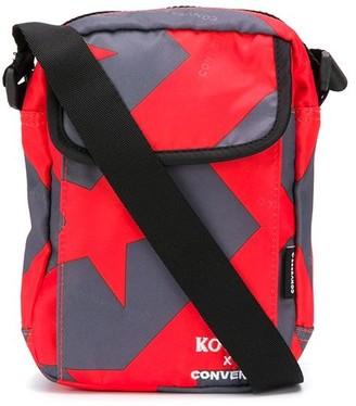 Koché x Converse star-print messenger bag
