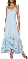 Vix Elma Flounce Hem Maxi Cover-Up Dress