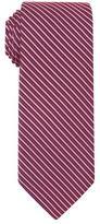 Shadow Stripe Grenadine Satin Silk Tie