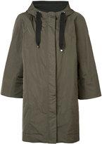 Brunello Cucinelli hooded parka - women - Polyester/Silk - 38