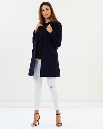 Privilege York Fitted Sleeve Coat