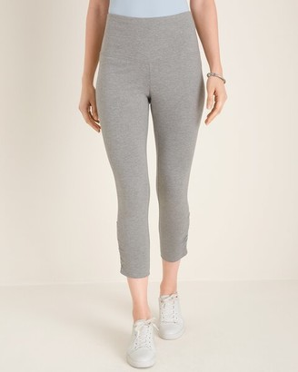 Zenergy So Slimming Ruched Crop Leggings