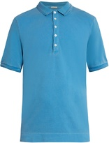 Massimo Alba Tennis short-sleeved cotton-blend polo shirt