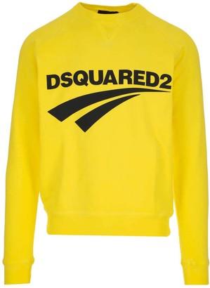 DSQUARED2 Flash Logo Crewneck Sweatshirt