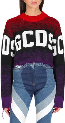 GCDS Logo Degrade Sweater