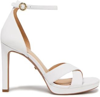 MICHAEL Michael Kors Alexia Leather Platform Sneakers