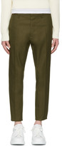 DSQUARED2 Green Hockney Trousers