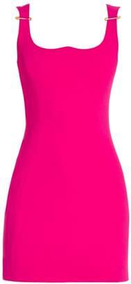 Versace Sleeveless Pin Strap Dress