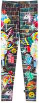 Terez x Black Tap Girls' Milkshake & Burger Leggings