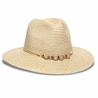 Physician Endorsed Women's Adjustable Head Size Beach Glass Fedora Hat