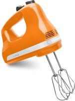 KitchenAid 5-Speed Hand Mixer in Tangerine