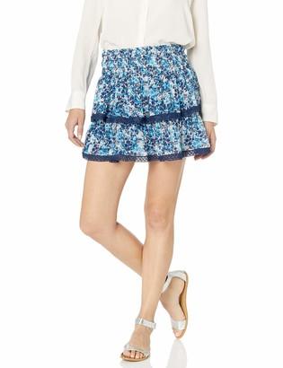 Ramy Brook Women's Floral Printed Maryjo Mini Skirt