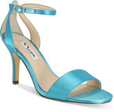 Nina Venetia Ankle-Strap Evening Sandals
