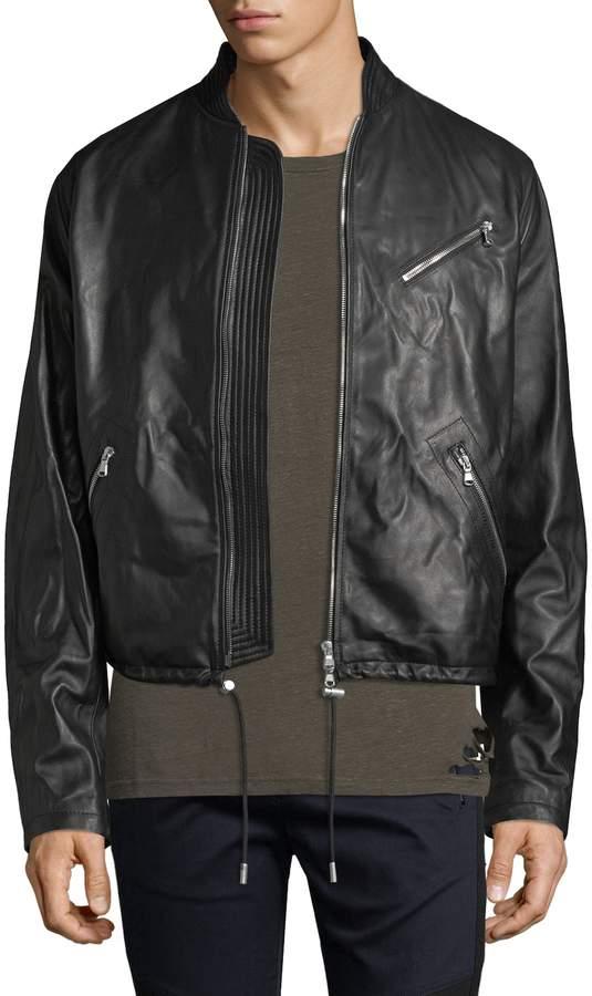 Diesel Black Gold Men's Lionel Solid Jacket