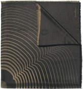 Salvatore Ferragamo line print scarf