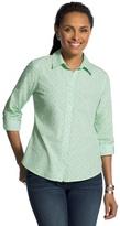 Chico's Diamond Bri Wrinkle-Free Shirt