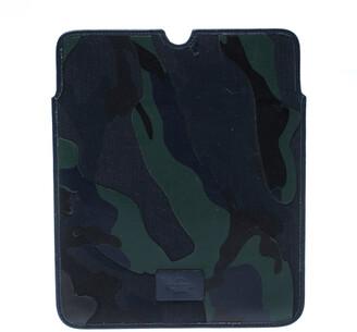 Valentino Camo Leather iPad 2 Case Holder