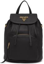 Prada Pebbled Leather Backpack