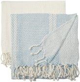 Pacific Coast Textiles Anchor Shores Cotton Throw - 50 x 60