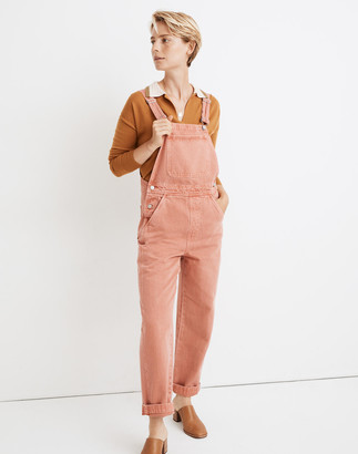 Madewell Relaxed Overalls: Garment-Dyed Edition