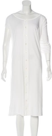 Y-3 Button-Up Midi Dress w/ Tags