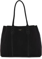 Lanvin Small Suede Shopper Bag