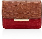 Jason Wu Diane Color Block Leather and Suede Crossbody