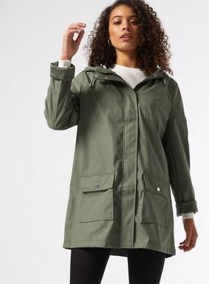Dorothy Perkins Womens Dp Tall Khaki Raincoat, Khaki
