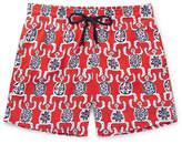 Vilebrequin Moorise Mid-Length Printed Swim Shorts