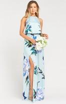 Show Me Your Mumu Heather Halter Dress
