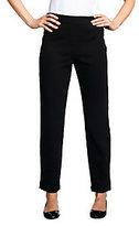 Joan Rivers Classics Collection As Is Joan Rivers Wardrobe Builders Petite Ponte Knit Slim Pants