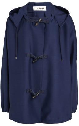 Lanvin Oversized Hooded Raincoat
