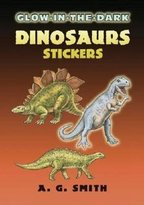 Dover Glow-in-the-Dark Dinosaurs Stickers