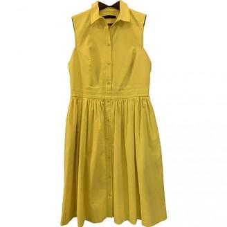 Karen Millen Yellow Cotton Dress for Women