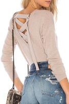 Autumn Cashmere Lace Back Sweater