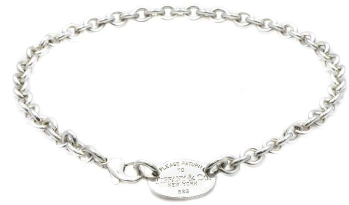 Tiffany & Co. 925 Sterling Silver Chain Necklace