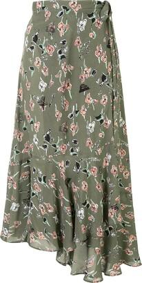 Markus Lupfer Wrap Style Skirt
