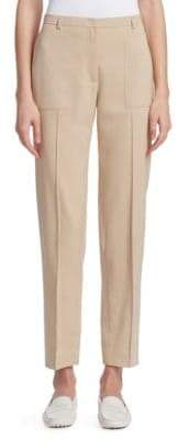 Akris Colin Silk Gabardine Pants