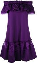Alberta Ferretti Abito off-shoulder dress - women - Cotton/other fibers/Silk - 40