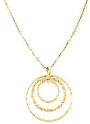 David Yurman 18K Mobile Pendant Necklace