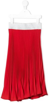MonnaLisa Pleated Flared Skirt