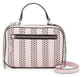 Milly Stripe Perforated Mini Satchel