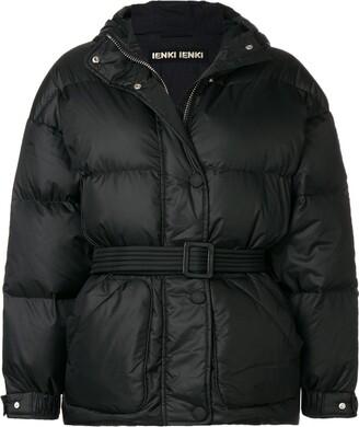 Ienki Ienki Belted Puffer Jacket