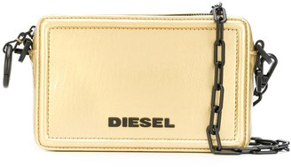 Diesel Square Logo Satchel Bag