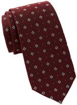 Ben Sherman Floral Dot Tie