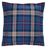 Ralph Lauren Saranac Peak Collection Bentwood Plaid Cotton Euro Sham