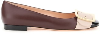 Bally Jackie Buckled Flats